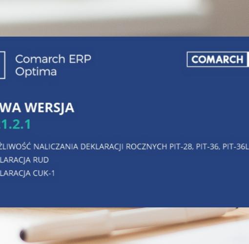 Comarch ERP Optima 2.1