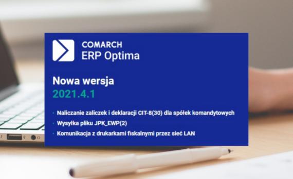 Comarch ERP Optima Szeran IT